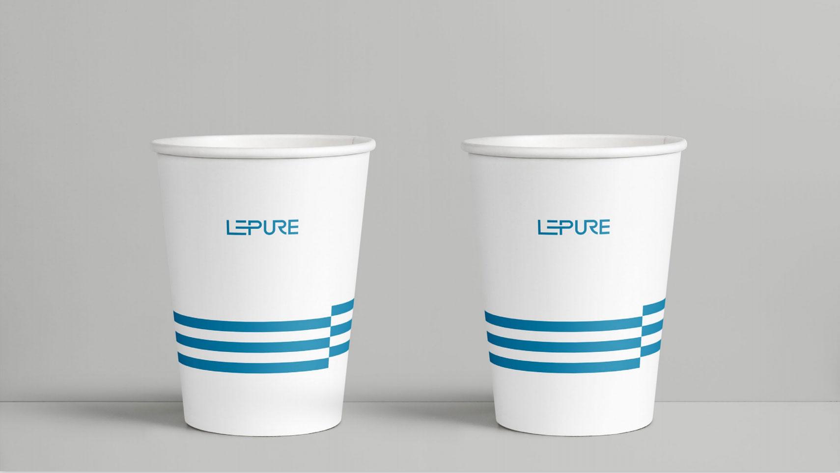乐纯生物技术logo设计